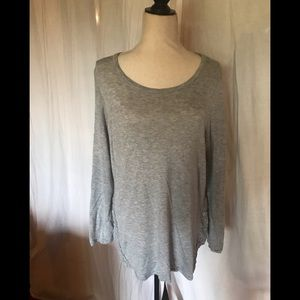 New Direction light grey top